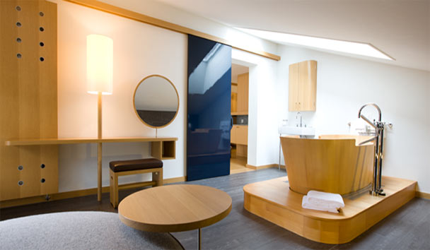 The Omnia: Double Deluxe Bathroom