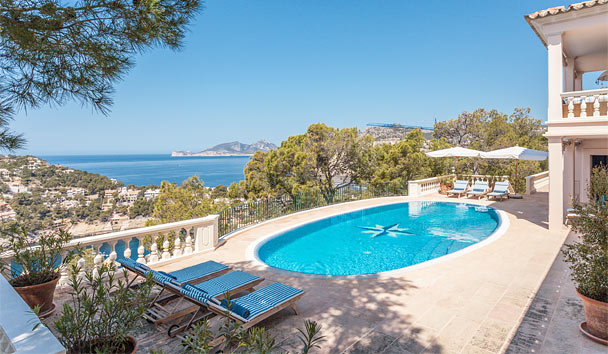 Villa Rosa: A charming villa in Mallorca with breathtaking views
