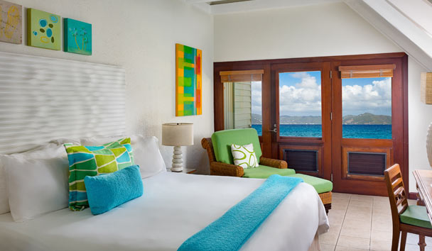 Peter Island Resort & Spa: Ocean View Room