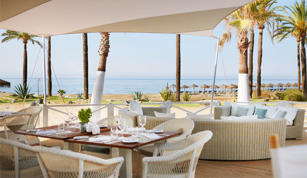 Puente Romano Beach Resort & Spa: Del Mar Beach Cafe