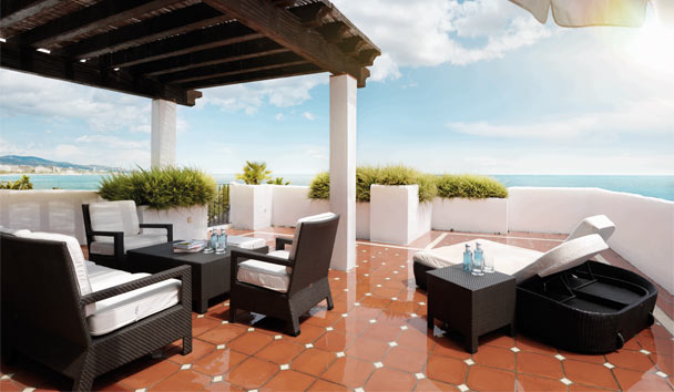 Puente Romano Beach Resort & Spa: Royal Suite Terrace
