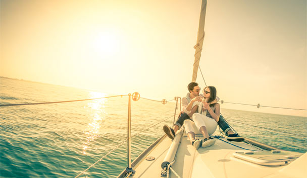 Romance in the Caribbean: Sail away to a private island