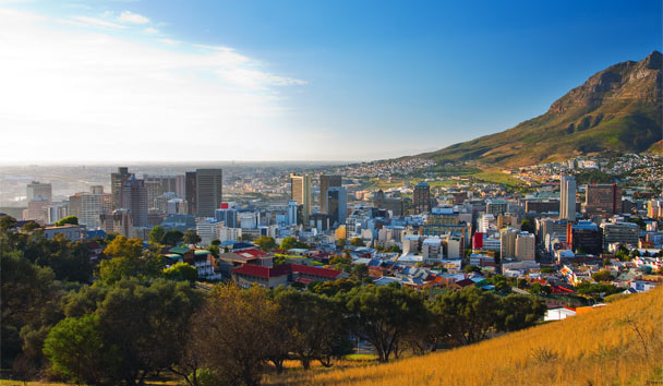 Vibrant Voyages: Cape Town is a collection of colour and city life