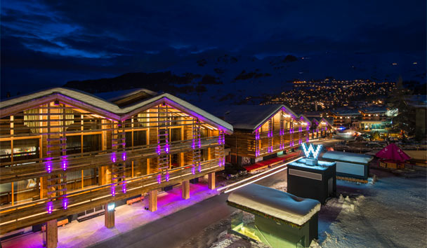 W Verbier: Resort View