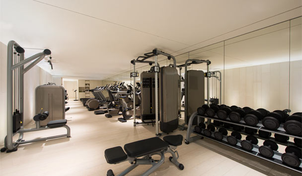W Verbier: Fitness Room