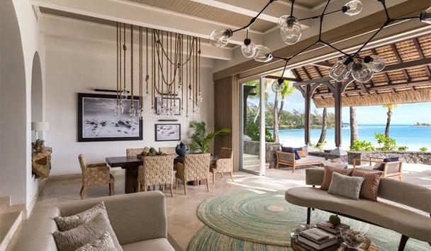 Shangri-La's Le Touessrok Resort & Spa, Mauritius: Villa Lounge and Dining
