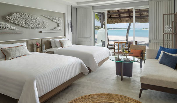 Shangri-La's Le Touessrok Resort & Spa, Mauritius: Deluxe Twin Room with Beach Access