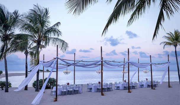 Shangri-La's Le Touessrok Resort & Spa, Mauritius: Wedding on the Beach