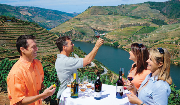 Wine-tasting in Douro Valley, Portugal