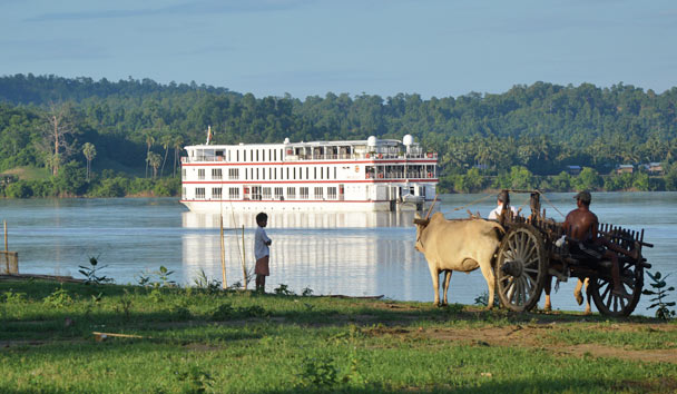 Belmond Orcaella on the Irrawady River, Burma