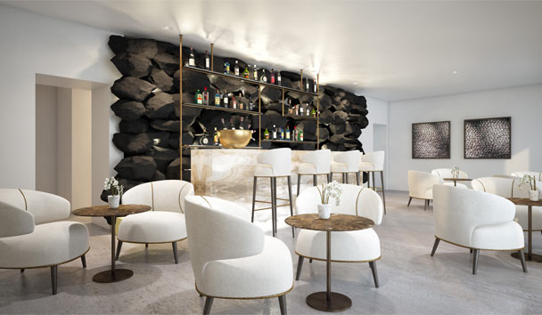 Grace Hotel Santorini, Auberge Resorts Collection: Champagne Lounge
