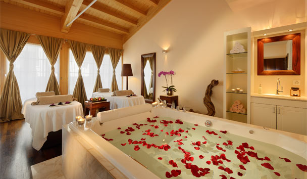 Mount Cervin Palace: Spa Suite