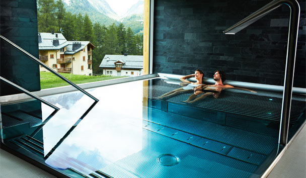 Nira Alpina: Plunge Pool
