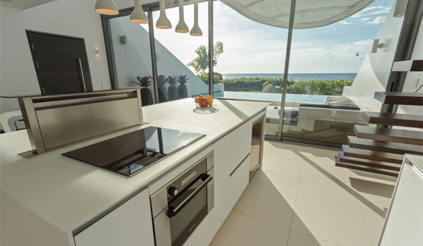 Kata Rocks: One Bedroom Ocean Loft Villa Kitchen