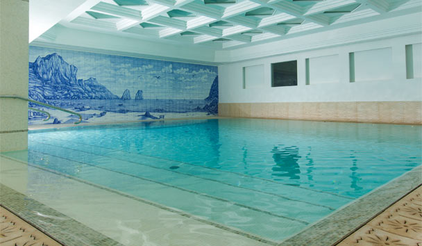 Grand Hotel Quisisana: Spa indoor swimming pool