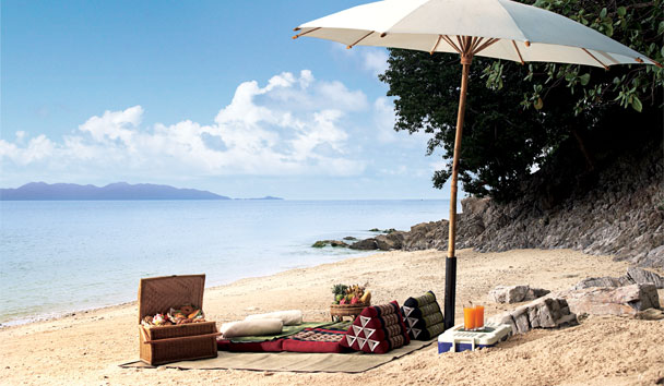 Four Seasons Resort Koh Samui: Beach Picnic
