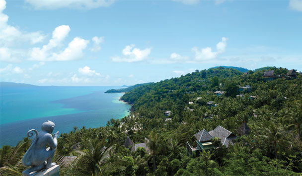 Four Seasons Resort Koh Samui: Ocean and Hillside View
