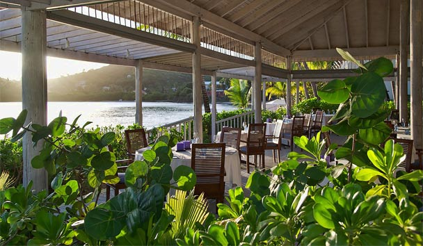 Carlisle Bay: Restaurant Indigo on the Beach