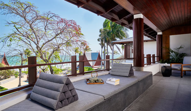 Chiva-Som International Health Resort: Champaka Suite Terrace