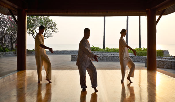 Chiva-Som International Health Resort: Tai Chi