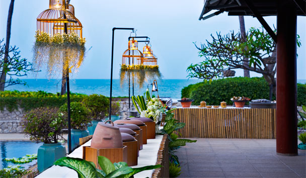Chiva-Som International Health Resort: Dining Terrace