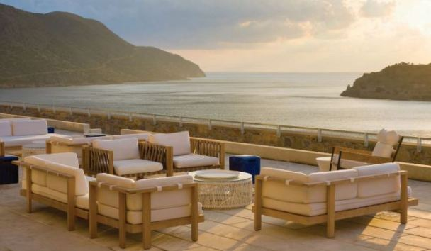 Blue Palace, A Luxury Collection Resort & Spa, Crete: Terrace View