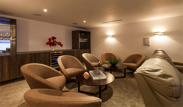 The Beach House, Meads Bay: Home Theatre Bar
