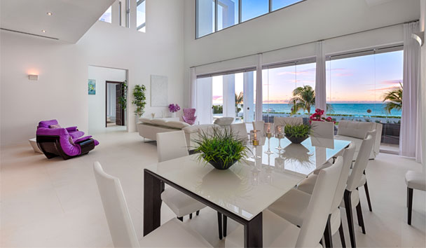 The Beach House, Meads Bay: Dining Area