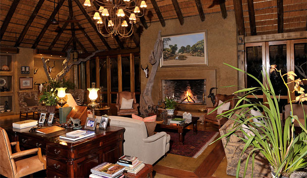 Camp Jabulani: Main Lodge Interior