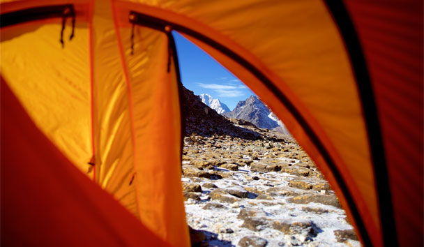 Wendy Hooper: Morning View from Tent