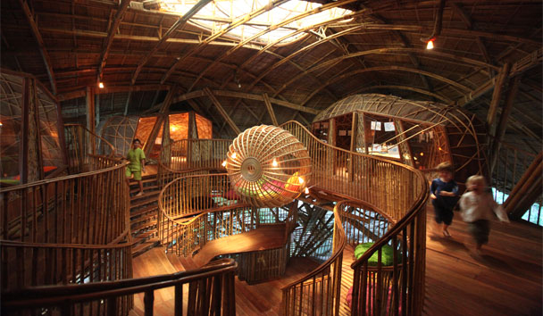 Soneva Kiri: The Den children's play area