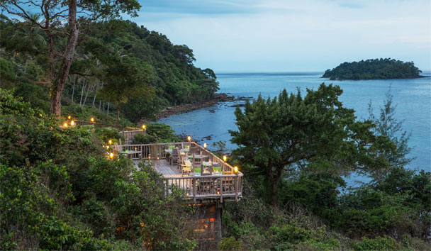 Soneva Kiri: The View deck