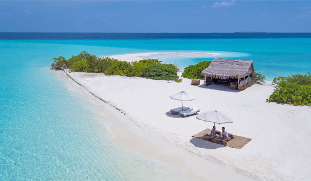 Soneva Fushi, Picnic on the sand
