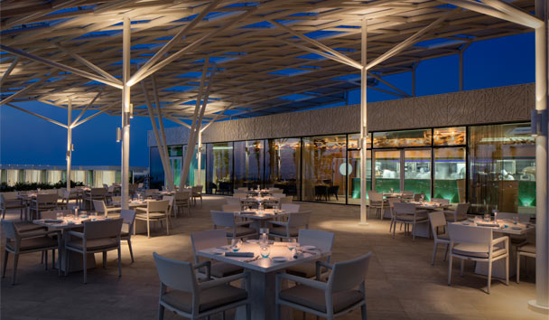 Burj Al Arab Terrace: Scape Restaurant and Bar