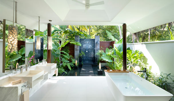 Niyama Private Islands: Studio Bathroom