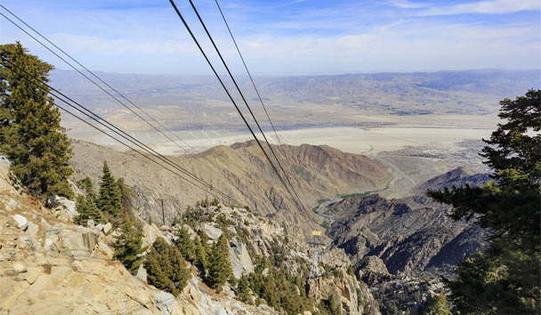 Getting to know The Golden State: Palm Springs Aerial Tramway