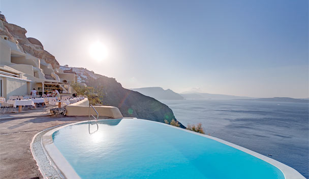 Mystique: Revel in the romance of Santorini's Aegean blues