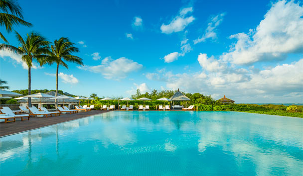 COMO Parrot Cay: Pool View