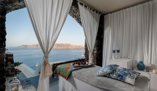 Canaves Oia Hotel: Spa