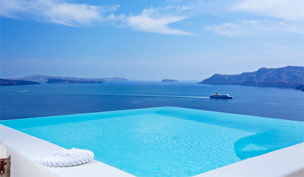 Canaves Oia Suites: Pool