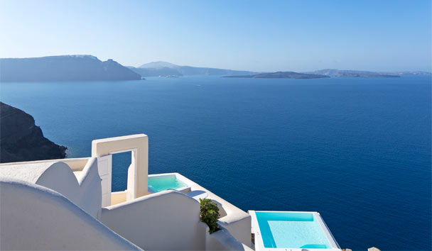 Canaves Oia Suites: Exterior View