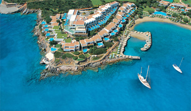 Elounda Peninsula All Suite Hotel : Aerial View