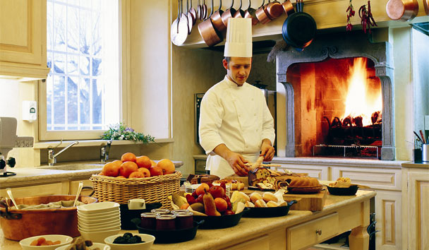 L'Andana: Tuscan Breakfast Buffet