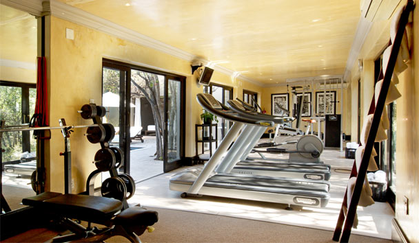 Royal Malewane: Spa gym