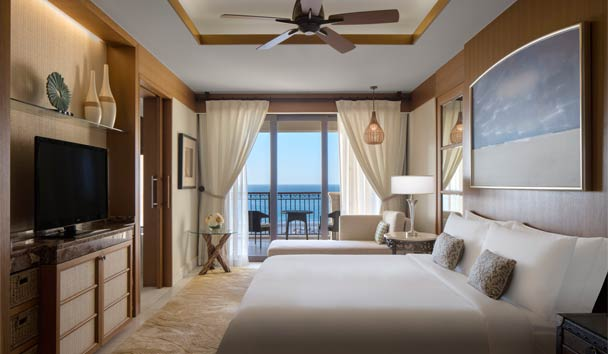 The St. Regis Saadiyat Island Resort: Premium Sea View Room