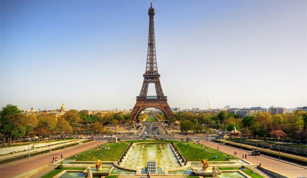 Europe's Most Romantic Destinations: Paris