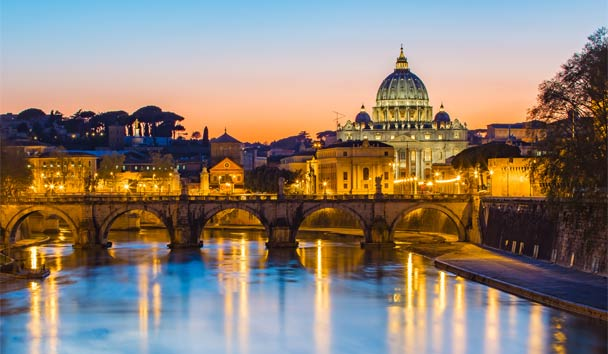 Europe's Most Romantic Destinations: Rome