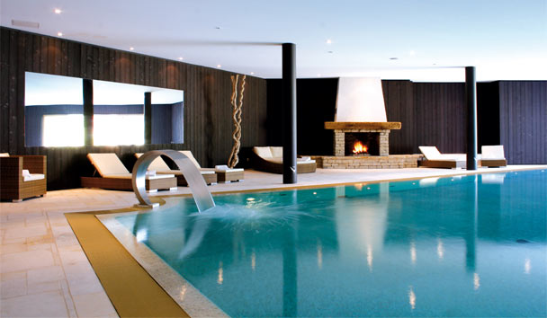 Chalet RoyAlp Hotel & Spa: Spa Pool