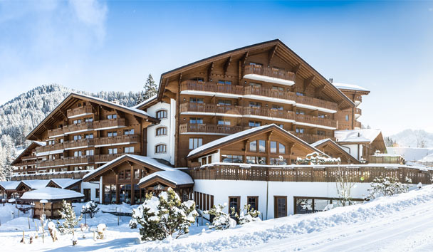 Chalet RoyAlp Hotel & Spa: Chalet - Winter