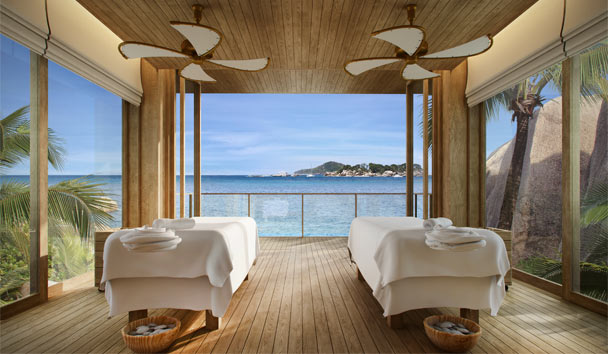 Six Senses Zil Pasyon: Spa treatment room